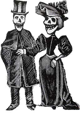 Somos primos george newnams casa de calaveras house of skeletons httphometownlcasacalavera fandeluxe Choice Image