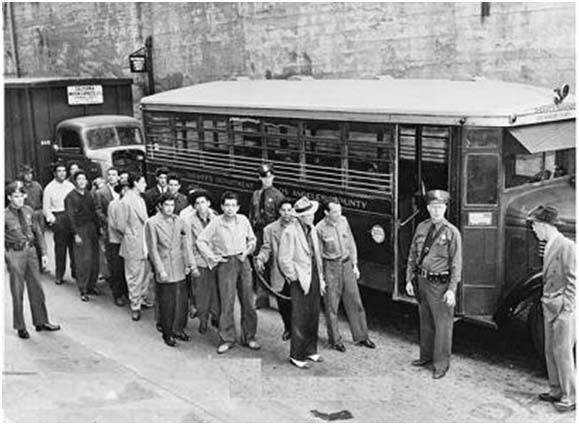 an introduction to the history of the zoot suit riots Pachuco culture is associated with the zoot suit and the idea of  seen in the united states in history, and the riots lasted  zoot-suit riots had.