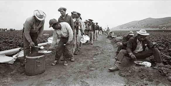 9c2d1a7319 Braceros (strong arms) in 1963. Bettmann Corbis Archives