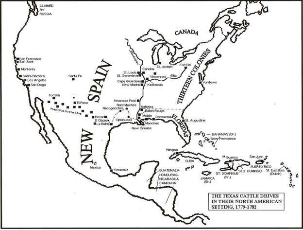 Somos primos note this map was submitted to be printed with my article on texas on the fourth of july 1776 in the july 4 2017 issue of the corpus christi fandeluxe Gallery