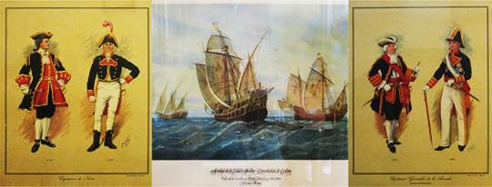 Historical artwork displayed in Seville s Maritime Museum 3e96689866a39